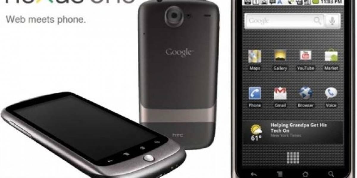 Google cambia de estrategia con el Nexus One