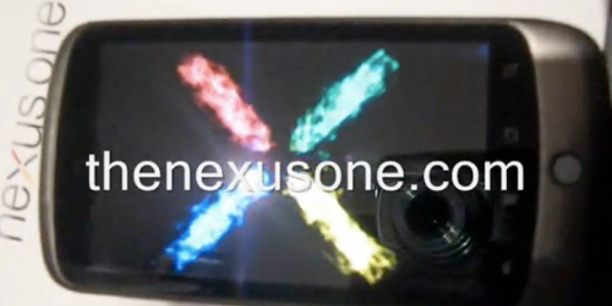 Primer video del Nexus One