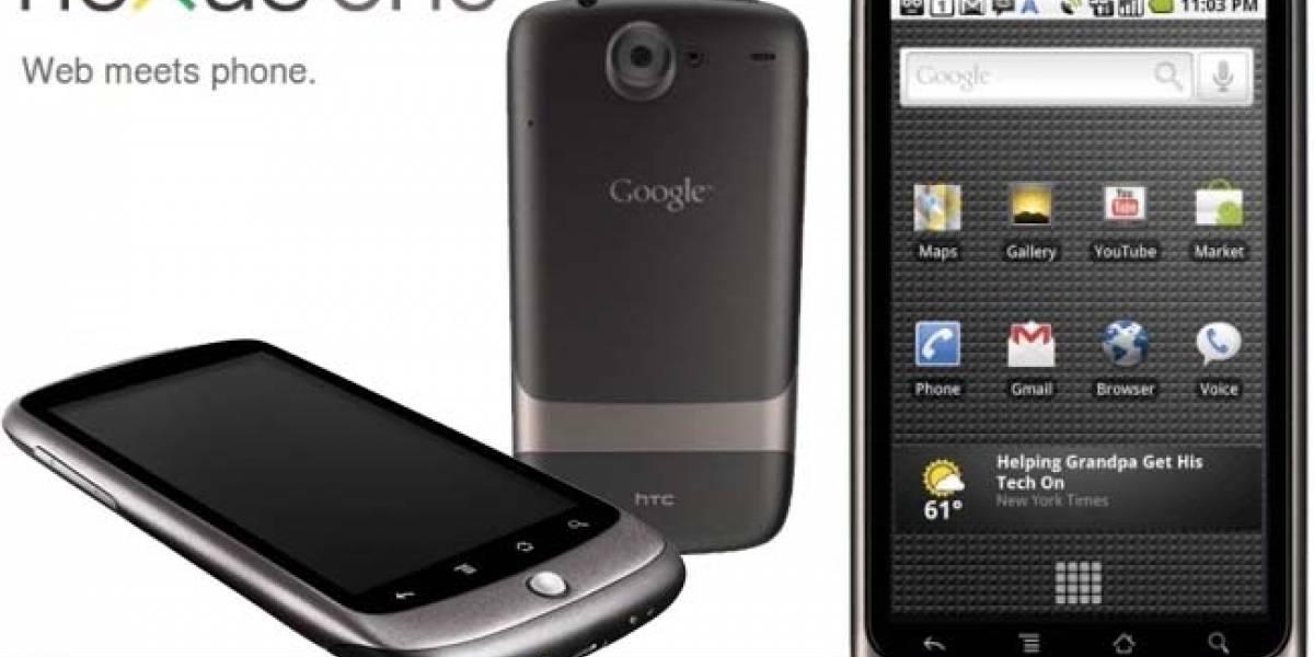 Llegan los últimos Nexus One a Google, luego dejarán de venderlos