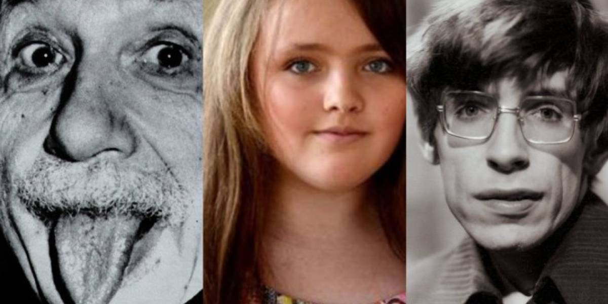 Esta niña del Reino Unido tiene un IQ más alto que Stephen Hawking y Albert Einstein