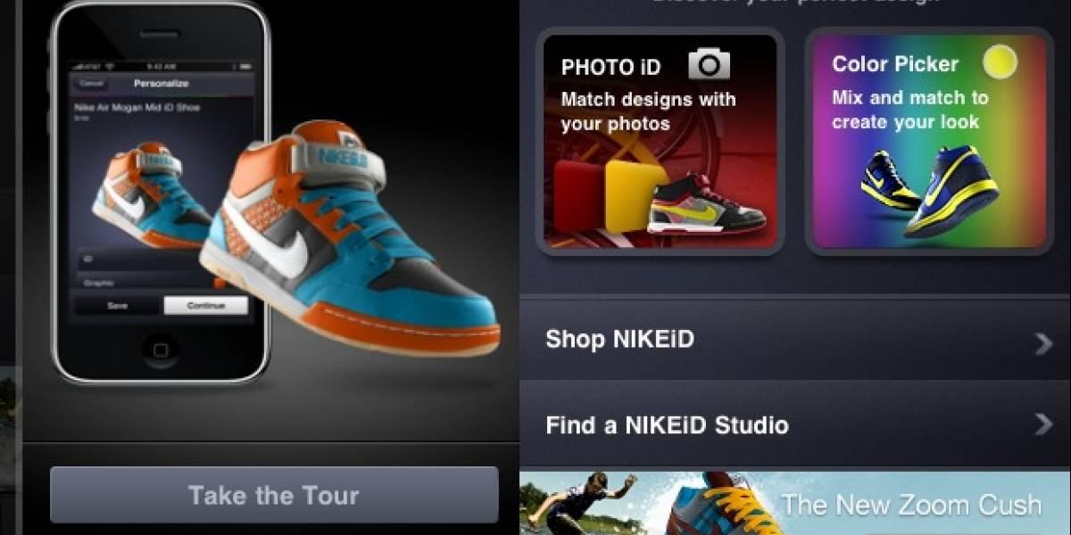 Diseña tus zapatillas Nike usando tu iPhone