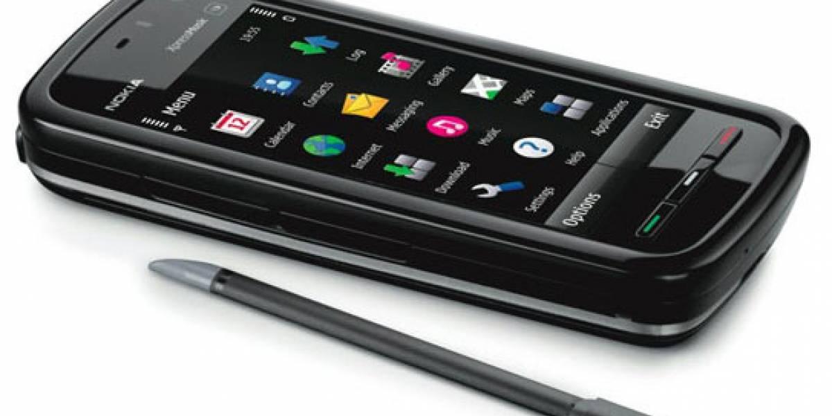 Actualización del firmware para el Nokia 5800, versión 30.0.011