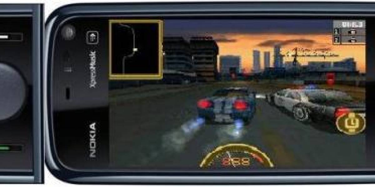 Concepto: Módulo con  capacidades N-GAGE para Nokia 5800 XpressMusic