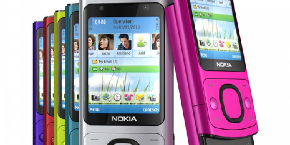 Nokia anuncia los modelos 6700 y 7300: sliders de colores