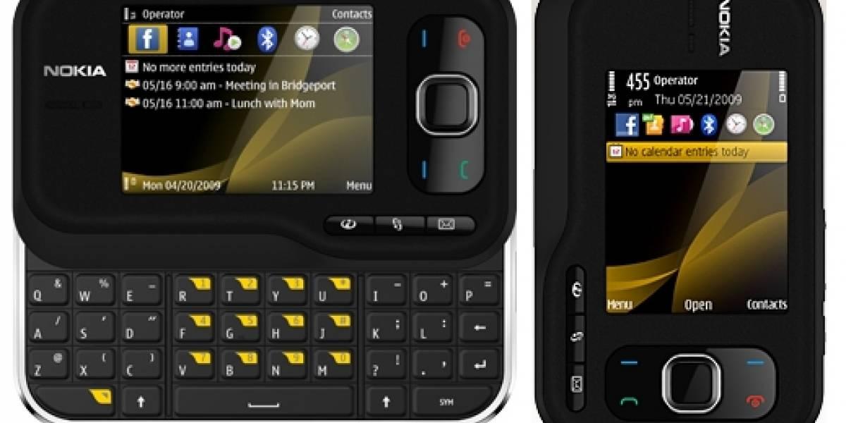 Nokia 6760 Slide presentado en Europa