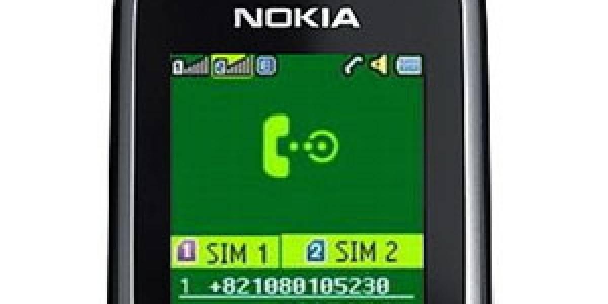 Futurología: Nokia lanzará varios móviles Dual SIM en el 2010
