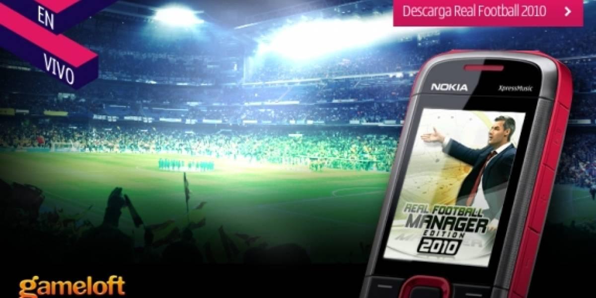 Nokia lanza promoción de juegos de fútbol