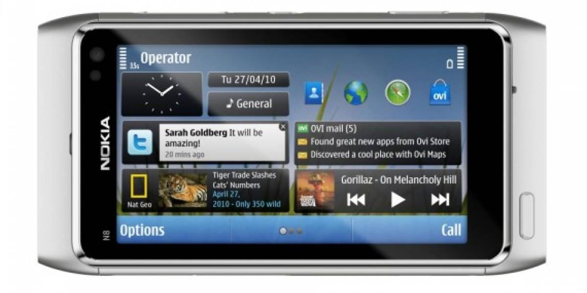 Primer video oficial del Nokia N8