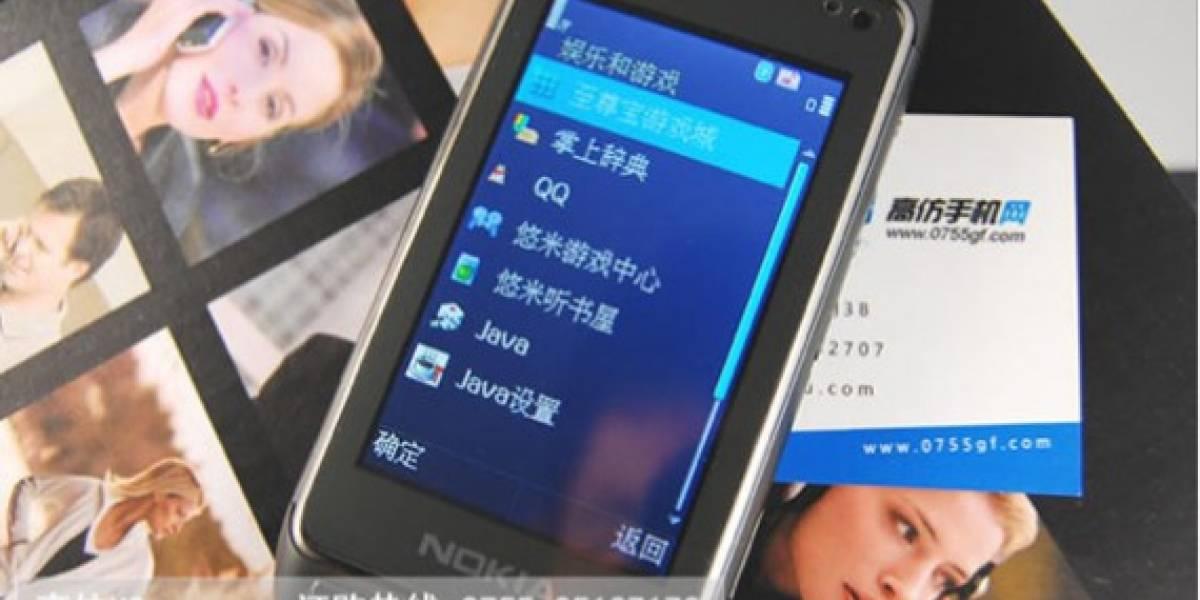 Ya salió a la venta el clon del Nokia N8