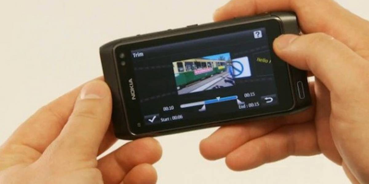 Nokia demuestra capacidad de edición de video en Nokia N8