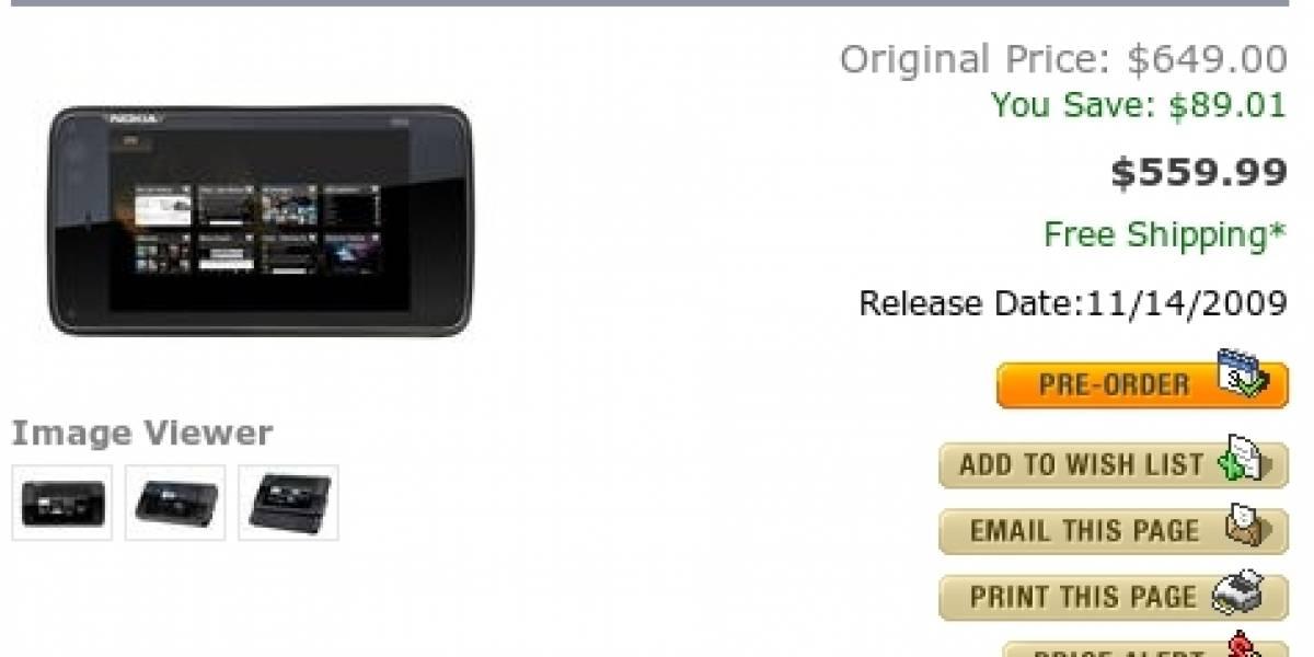 El Nokia N900 saldrá a la venta la próxima semana