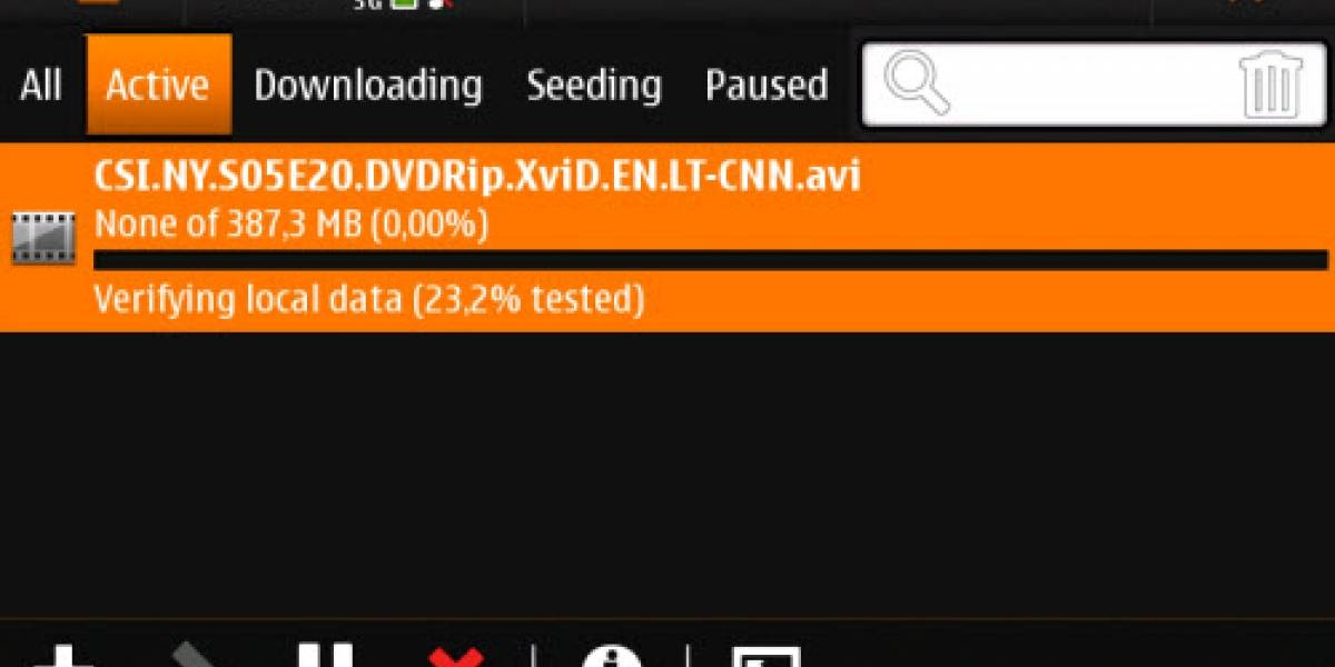 Descarga por Bittorrent y reproduce videos XDVD/AVI en el Nokia N900