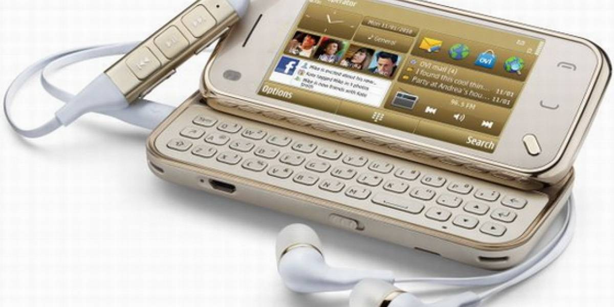 Nokia N97 Mini Gold Edition: 18 quilates para todos