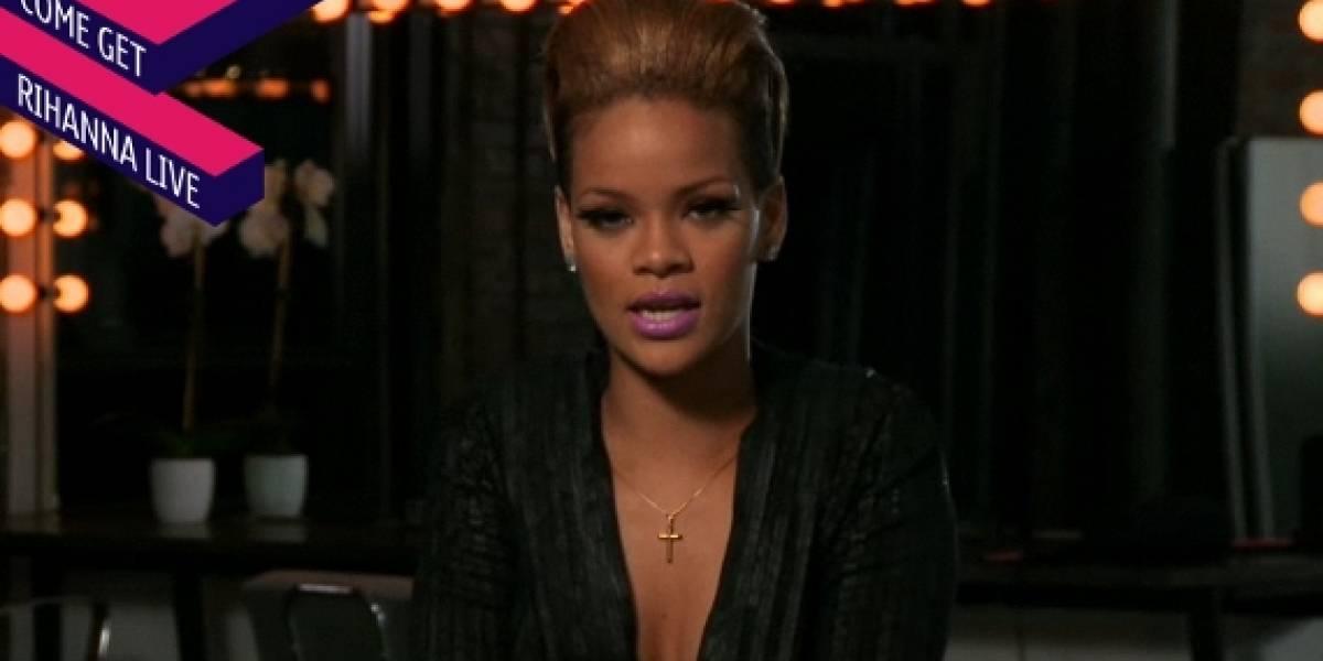 Nokia lanza el nuevo disco de Rihanna con un evento en vivo