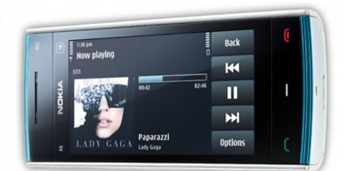 Nokia X6, reproductor musical por excelencia