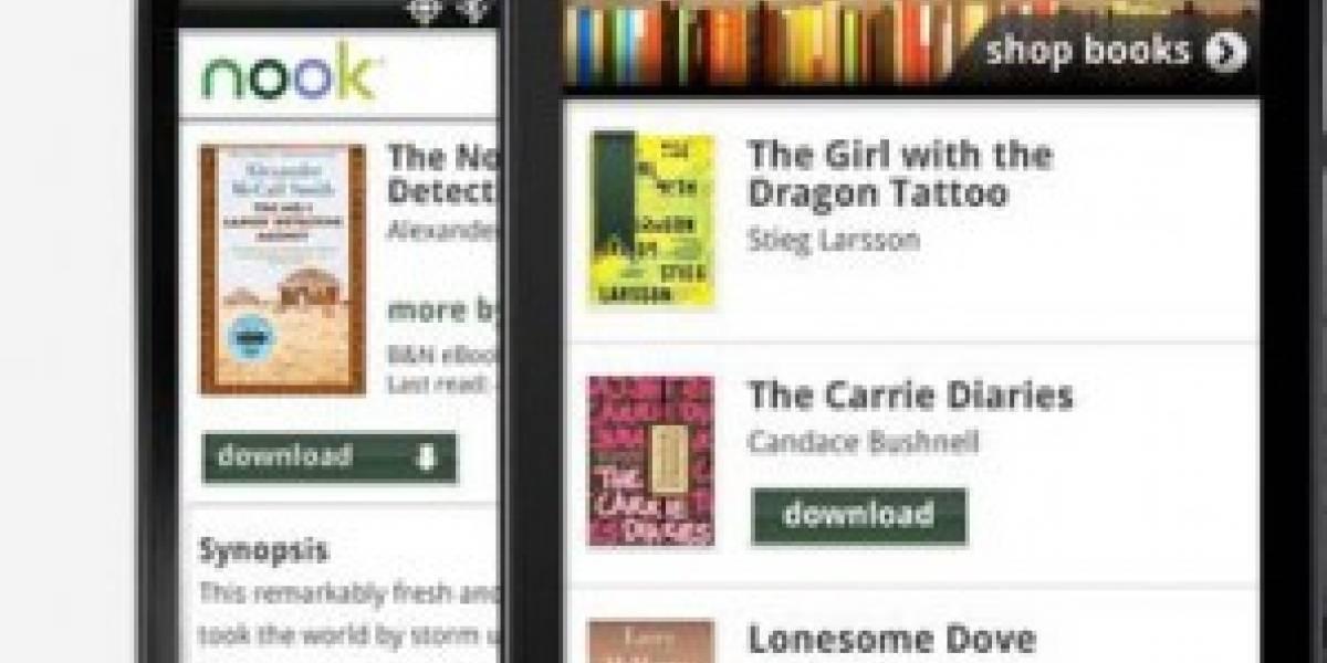 Nook ya está en el Android Market