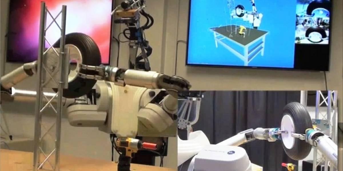 Agencia de investigación militar presenta su robot autónomo