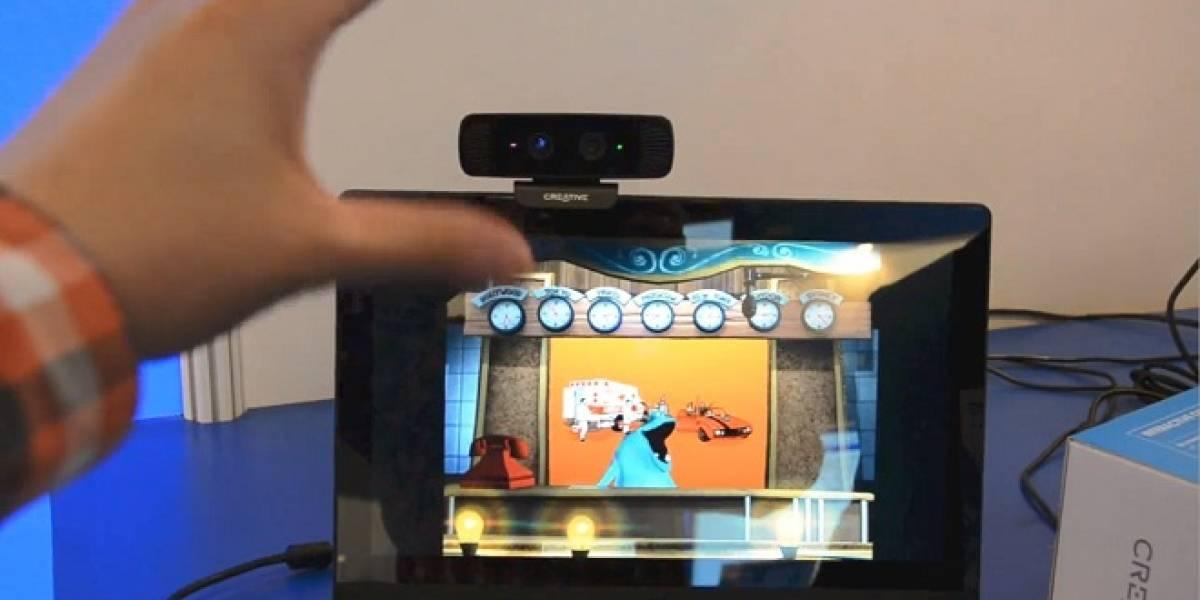 IDF Beijing 2013: Prueban cámara para interacción gestual, en una laptop