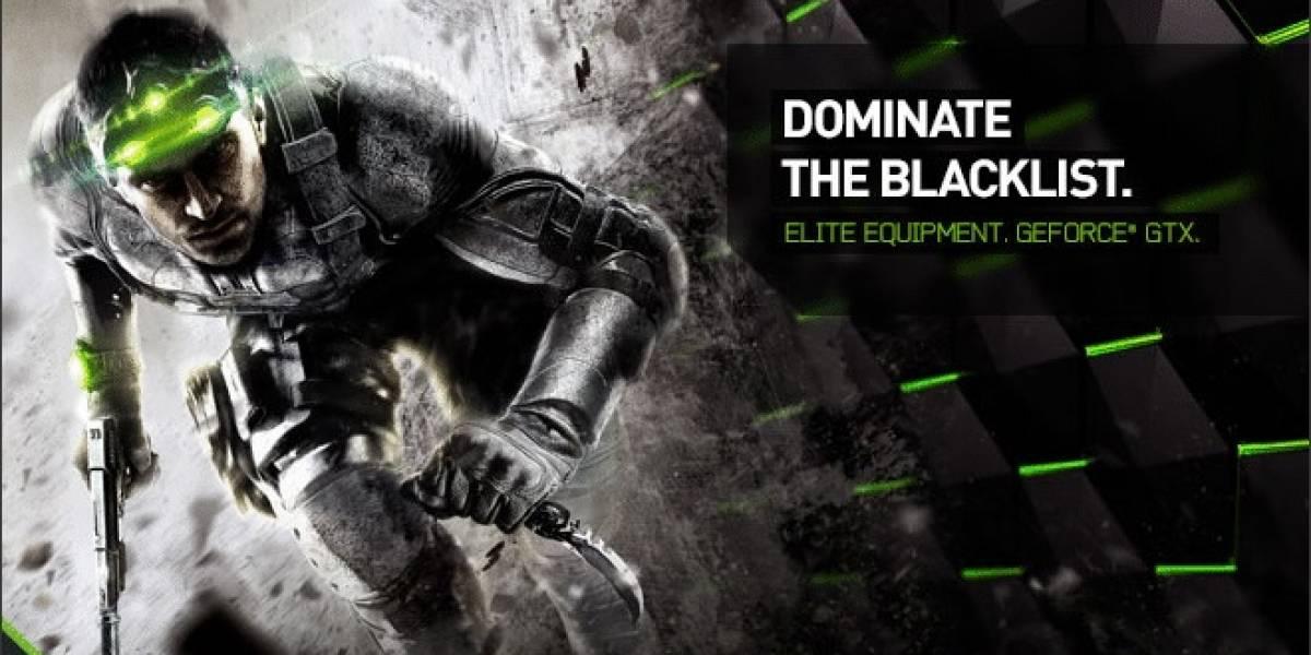 NVIDIA regalará Splinter Cell Blacklist con sus GeForce GTX 660 y superiores