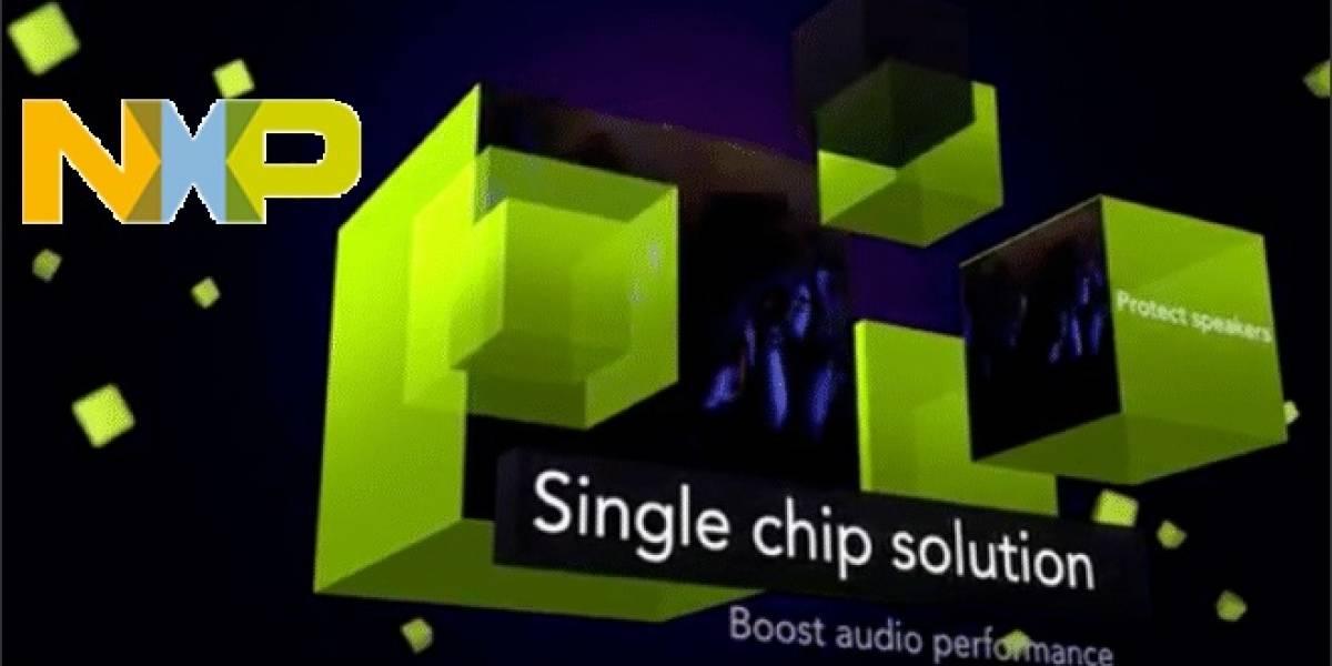 NXP anuncia su nuevo chip de sonido TFA9890 con la tecnología Feedback Speaker