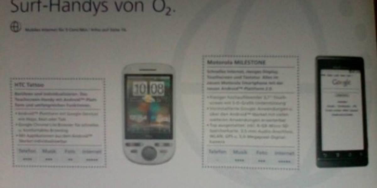 El Droid de Motorola se llamará Milestone en Europa