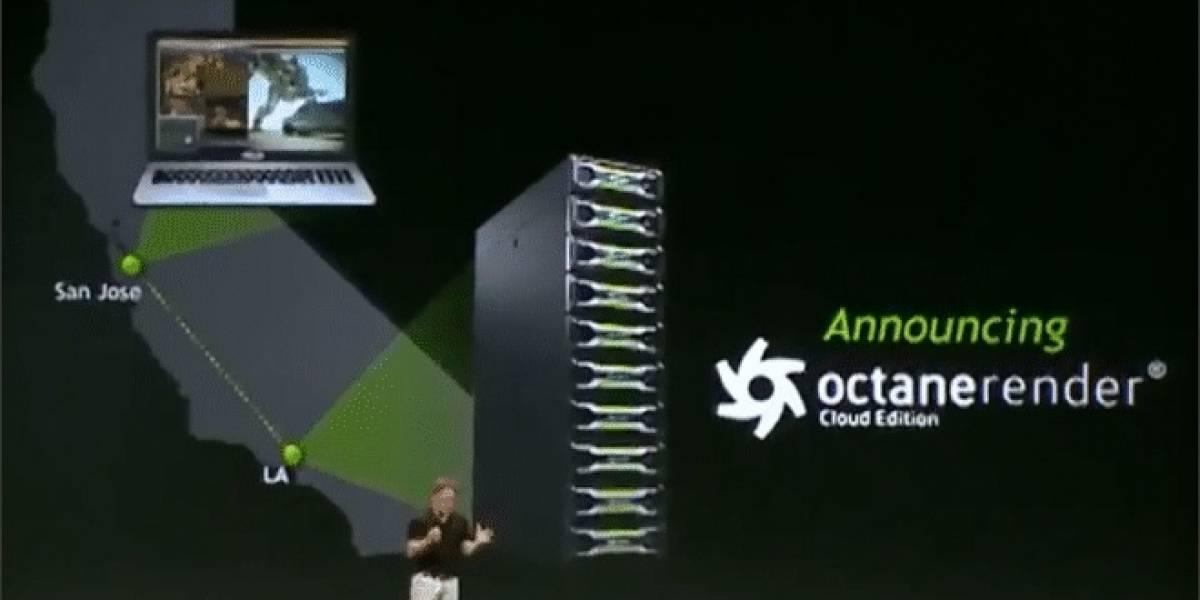 GTC 2013: NVIDIA realiza demostración de Octane Render Cloud Edition