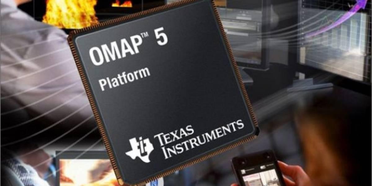 Texas Instrumentes muestra el rendimiento de sus SoC ARM OMAP5