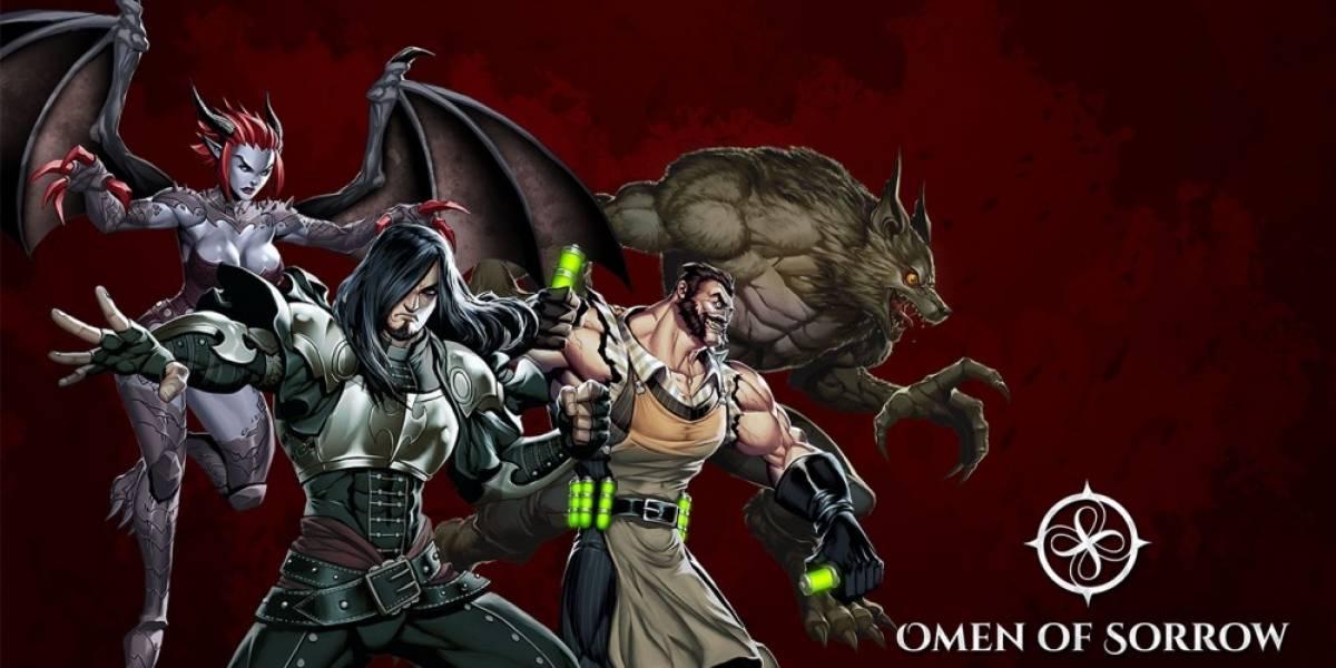 Omen of Sorrow: Creando un juego de peleas en Chile
