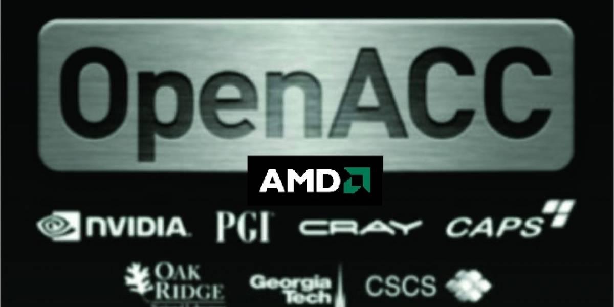 AMD obtiene compatibilidad con el API GPGPU abierta OpenACC