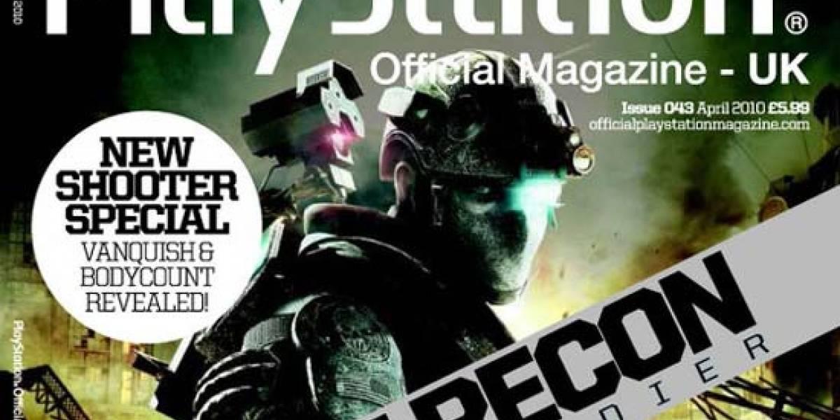 Nuevos detalles de Ghost Recon: Future Soldier