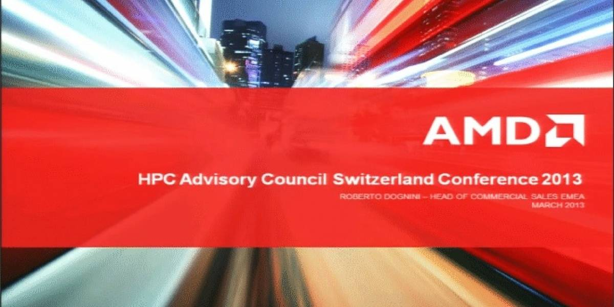 AMD expone sus planes para el segmento de los servidores