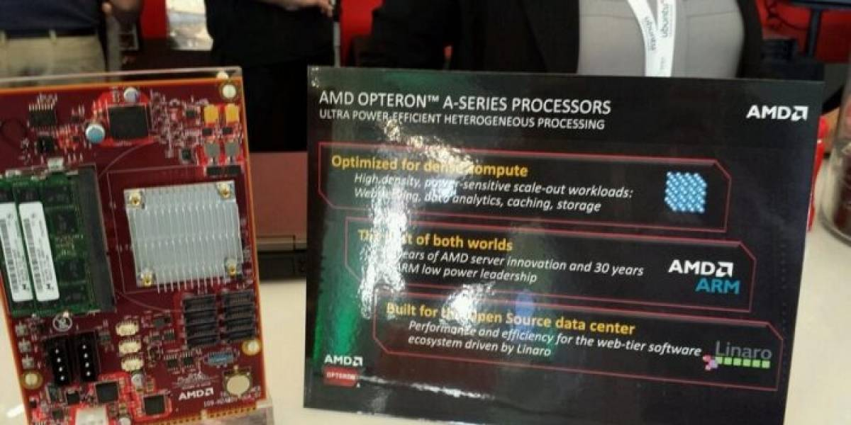 "AMD anuncia sus microprocesadores Opteron X1100 Series ""Seattle"""