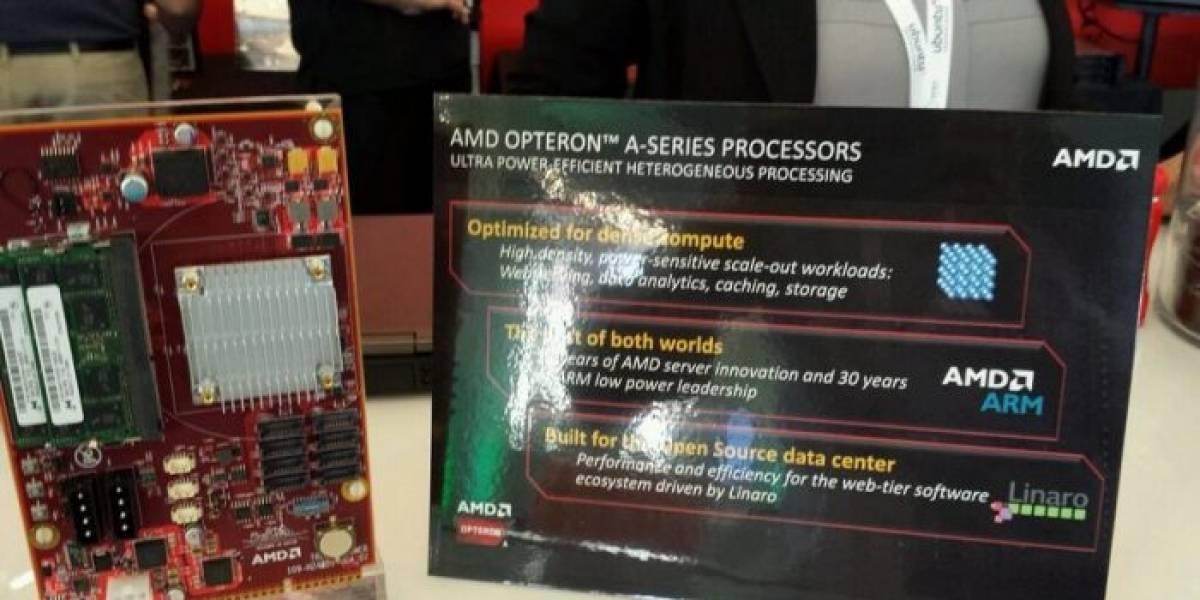 """AMD alista también un SoC Opteron A1100 """"Seattle"""" con 16 núcleos Cortex-A57"""