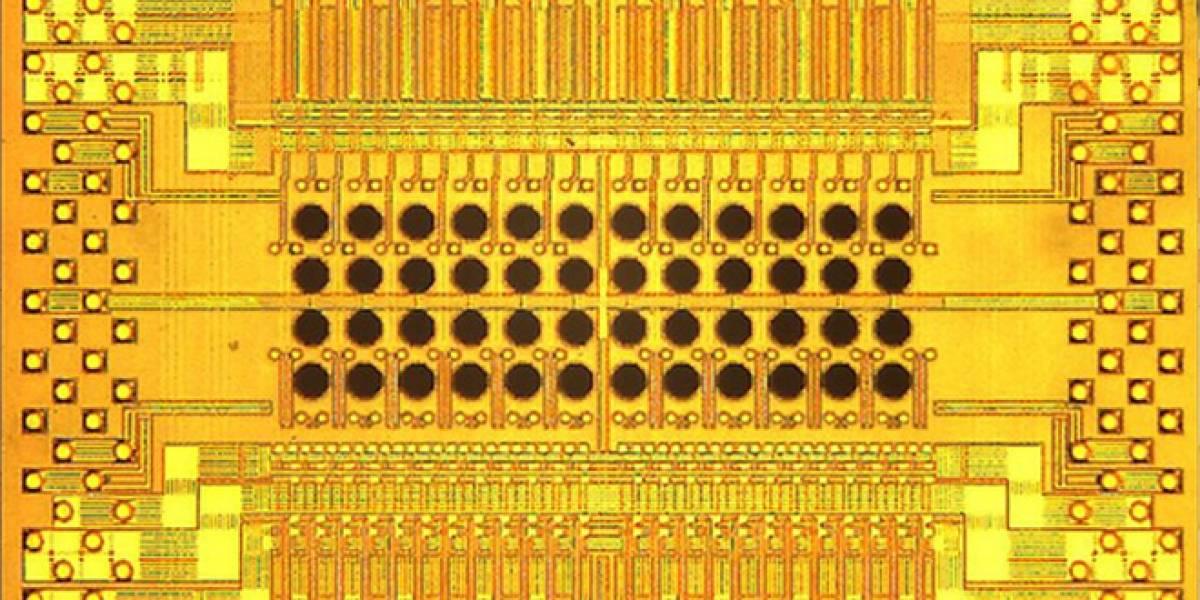 IBM agujerea un chip óptico para alcanzar velocidades de un terabit por segundo
