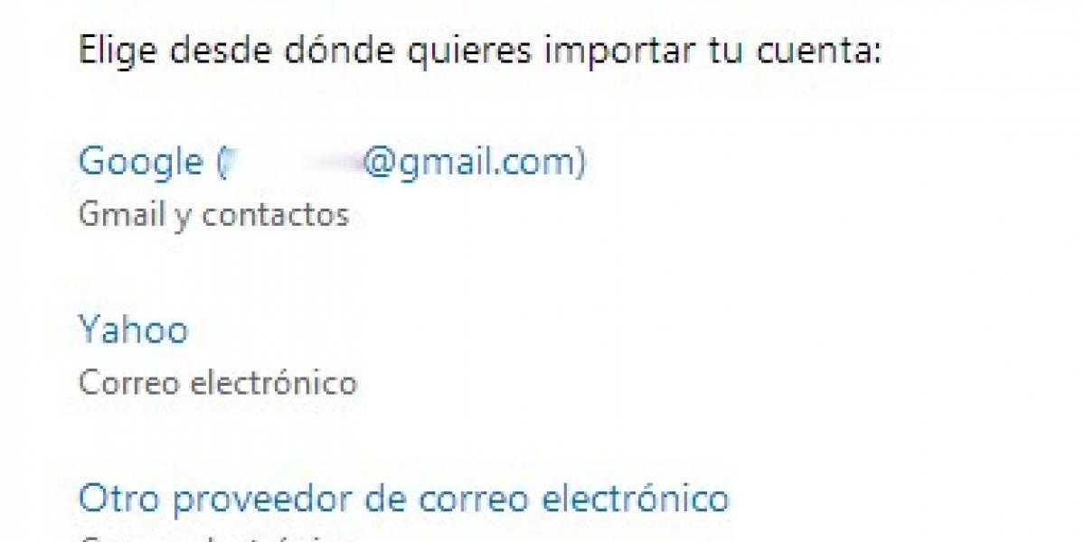 Microsoft ahora le permite a usuarios de Outlook.com importar correos de cuentas IMAP