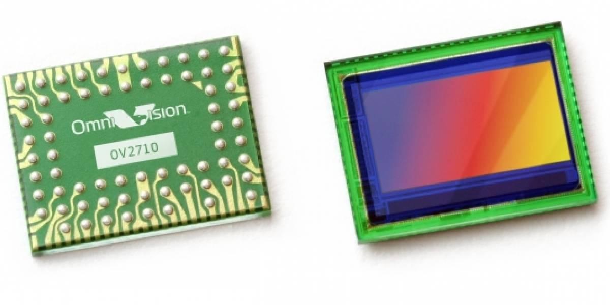 Crean sensor para móviles con capacidad para grabar a 1080p