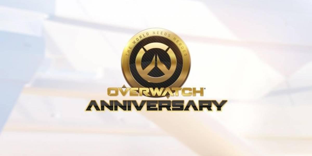 El evento de Aniversario de Overwatch ha comenzado y viene con tres mapas nuevos