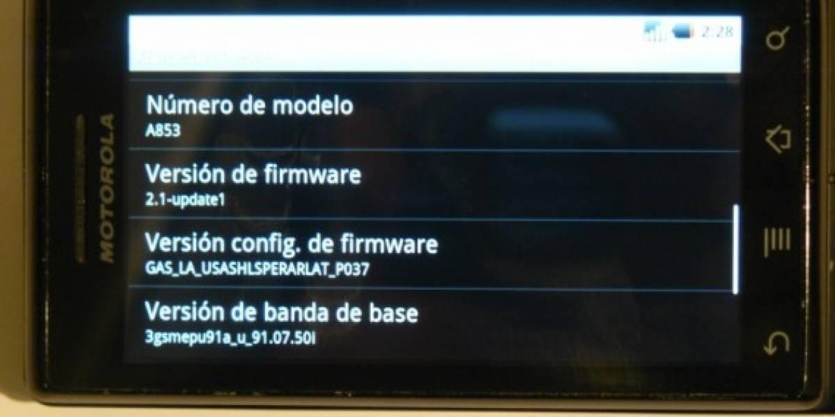 La operadora Personal de Argentina comenzó a distribuir la versión 2.1 de Android