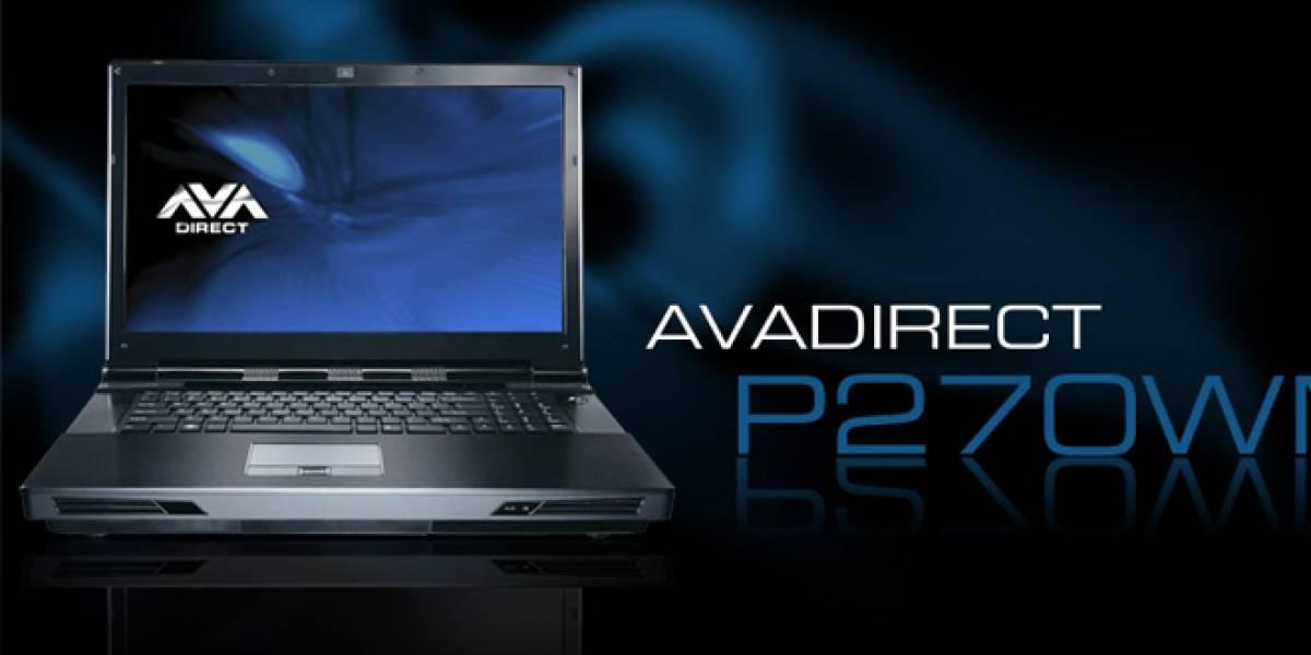 Lanzan notebook con CPU Intel Core i7 3960X