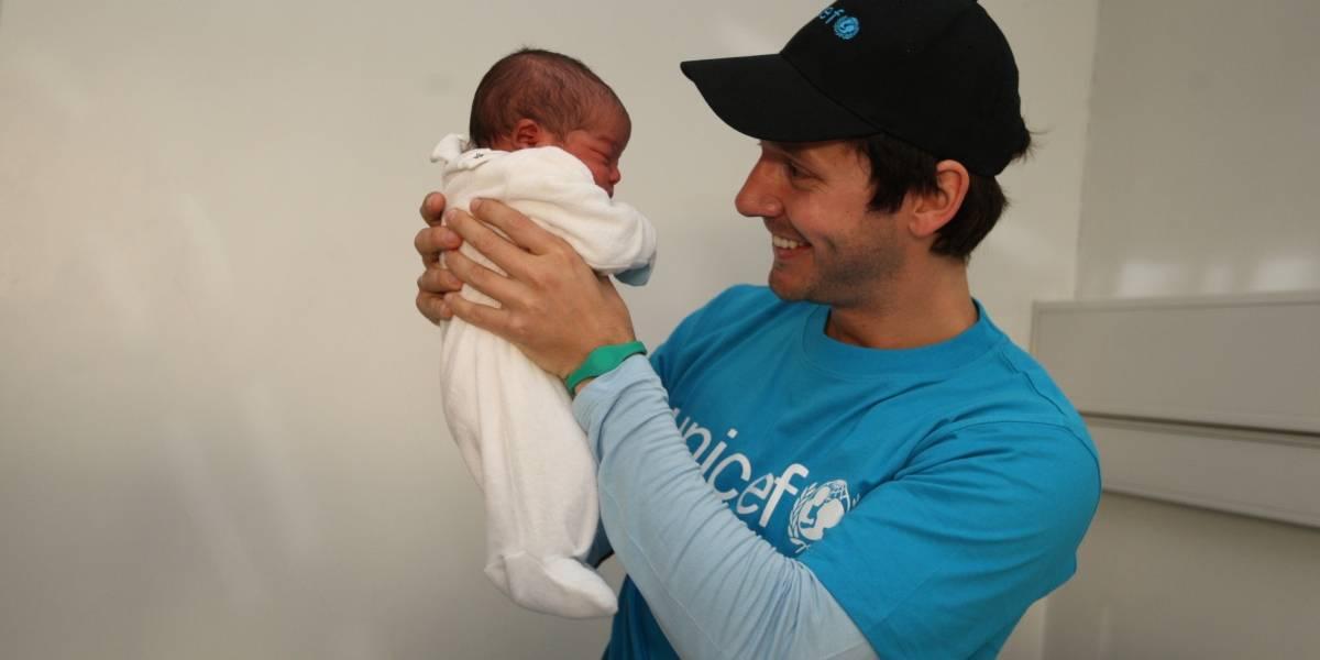 Benjamín Vicuña: Diez años trabajando por los niños con Unicef