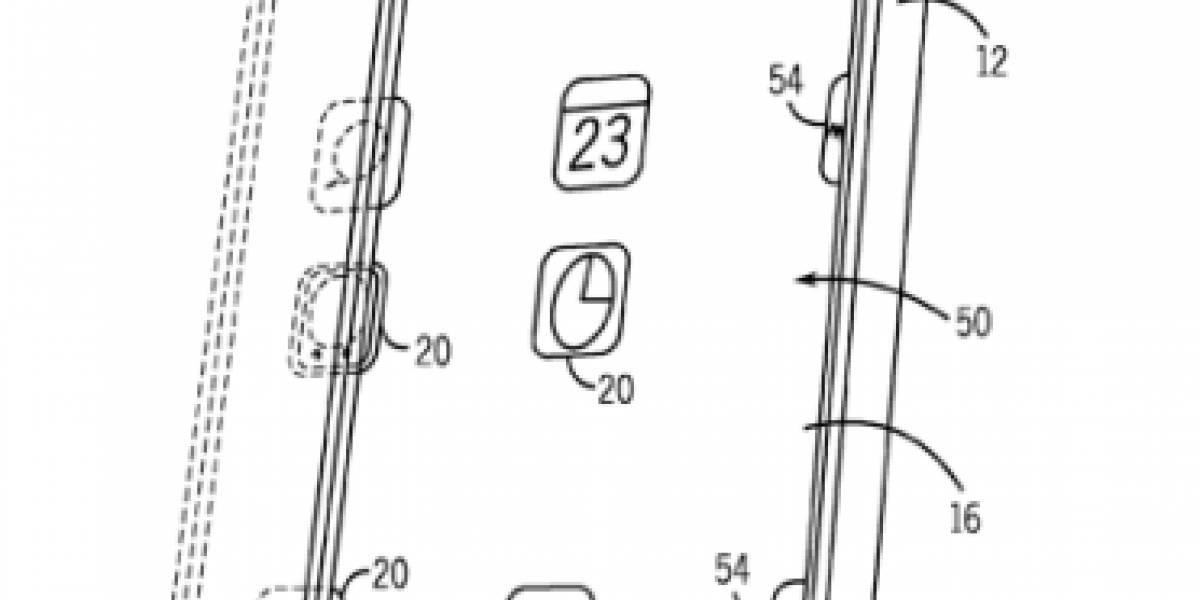 Apple patenta un sistema que compensa el movimiento en las pantallas móviles