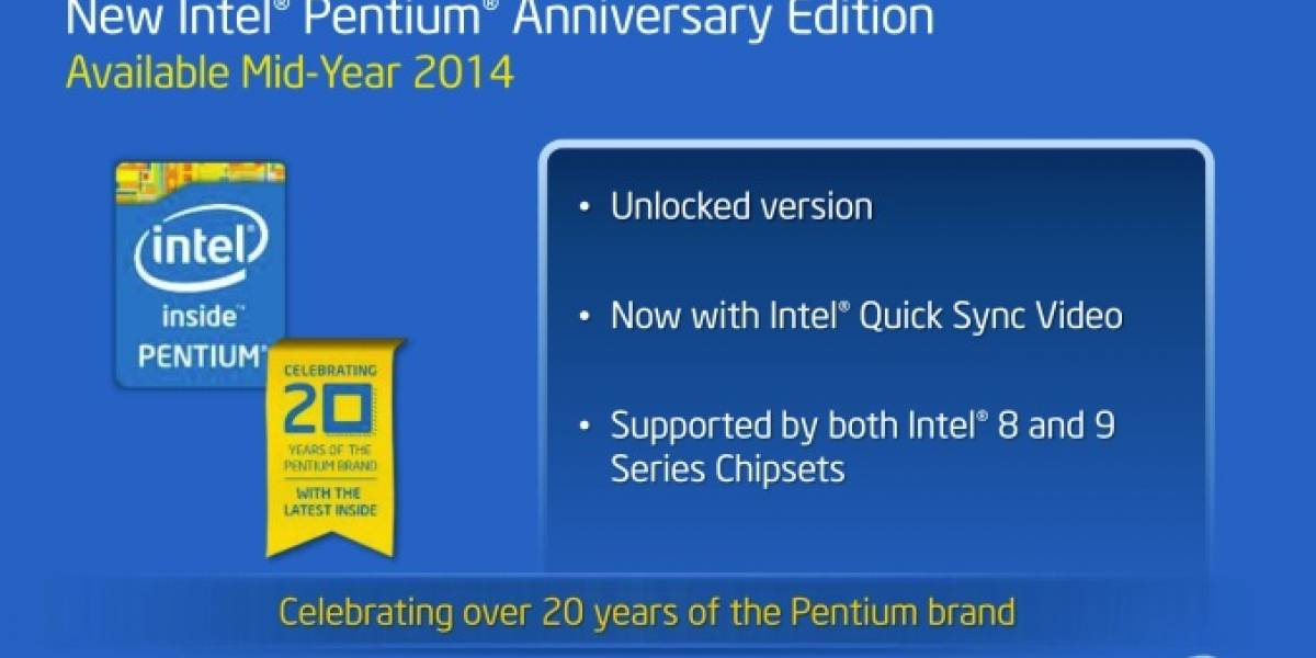 """Intel anuncia sus nuevos microprocesadores Pentium G3000 Series """"Haswell-K"""""""