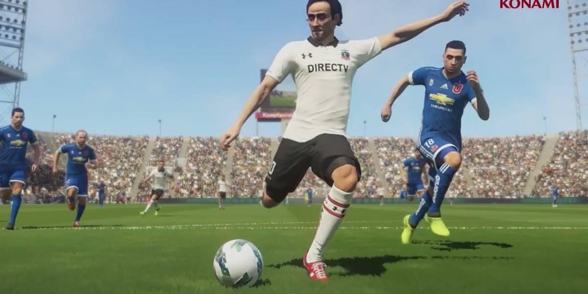 Konami firma sociedad exclusiva con Colo-Colo para el PES 2018