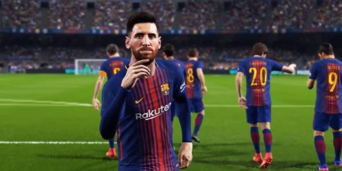 PES 2018 tendrá en portada a varios jugadores del Barcelona