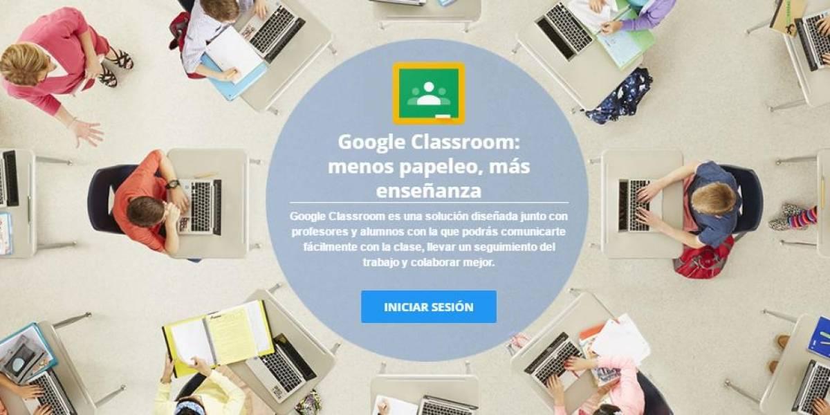 Google Classroom disponible para todos!!!