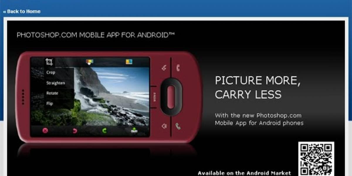 Ahora Photoshop también está disponible para Android