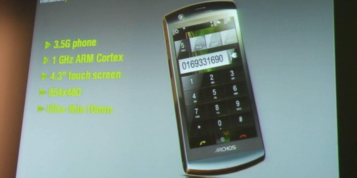 Imágenes del Archos Phone Tablet en París
