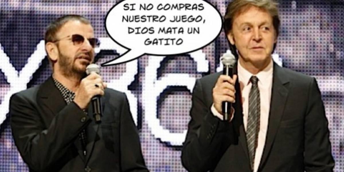 Paul McCartney y Ringo Starr muy involucrados en el desarrollo de The Beatles Rock Band