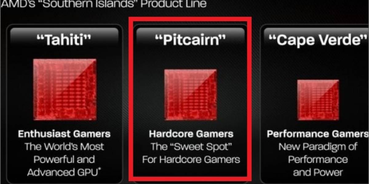 Se filtran las especificaciones de los GPUs AMD Radeon HD 7800