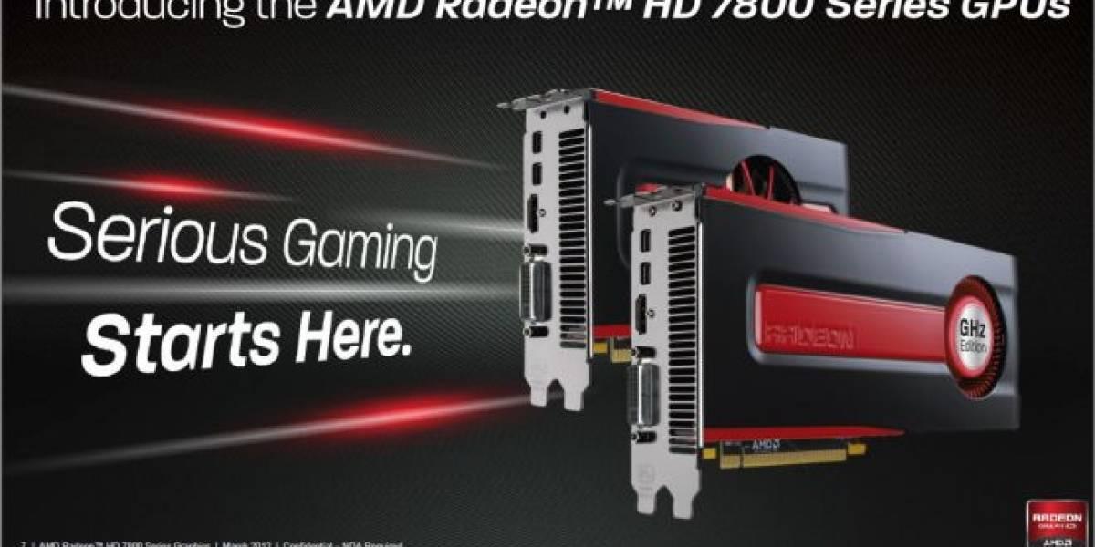 AMD Radeon HD 7870 y Radeon HD 7850 son lanzadas oficialmente